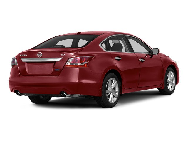 Cayenne Red 2015 Nissan Altima Pictures Altima Sedan 4D SV I4 photos rear view