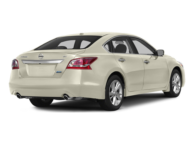 Pearl White 2015 Nissan Altima Pictures Altima Sedan 4D SV I4 photos rear view