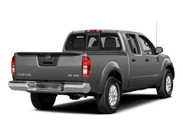 Brilliant Silver 2015 Nissan Frontier Pictures Frontier Crew Cab SV 2WD photos rear view