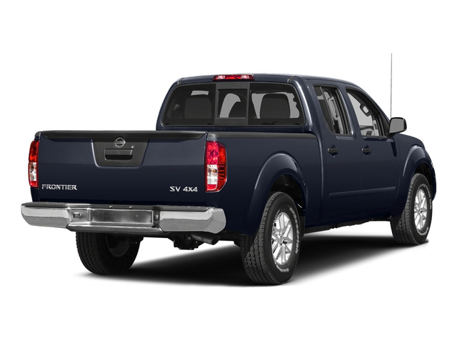 Arctic Blue Metallic 2015 Nissan Frontier Pictures Frontier Crew Cab SV 2WD photos rear view