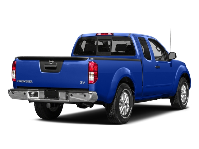 Metallic Blue 2015 Nissan Frontier Pictures Frontier King Cab PRO-4X 4WD photos rear view