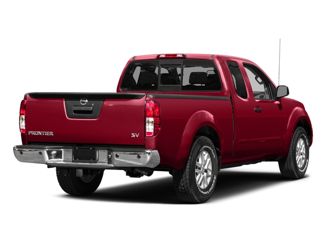 Lava Red 2015 Nissan Frontier Pictures Frontier King Cab PRO-4X 4WD photos rear view