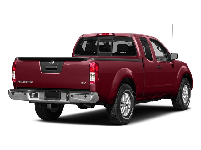 Cayenne Red 2015 Nissan Frontier Pictures Frontier King Cab S 2WD photos rear view