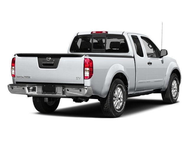 Glacier White 2015 Nissan Frontier Pictures Frontier King Cab S 2WD photos rear view