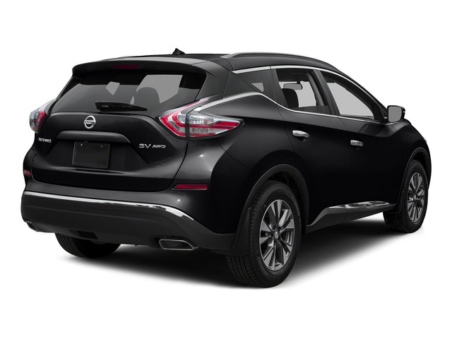 Magnetic Black Metallic 2015 Nissan Murano Pictures Murano Utility 4D S 2WD V6 photos rear view