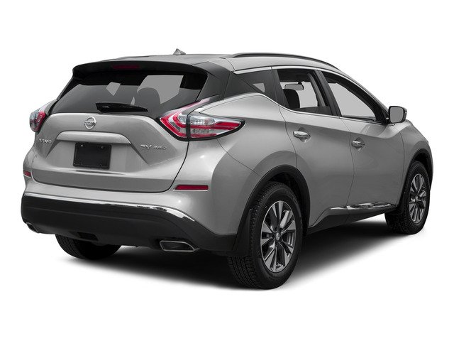 Brilliant Silver Metallic 2015 Nissan Murano Pictures Murano Utility 4D SV 4WD V6 photos rear view