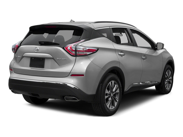 Brilliant Silver Metallic 2015 Nissan Murano Pictures Murano Utility 4D S 2WD V6 photos rear view