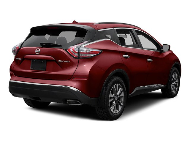Cayenne Red Metallic 2015 Nissan Murano Pictures Murano Utility 4D SV 4WD V6 photos rear view