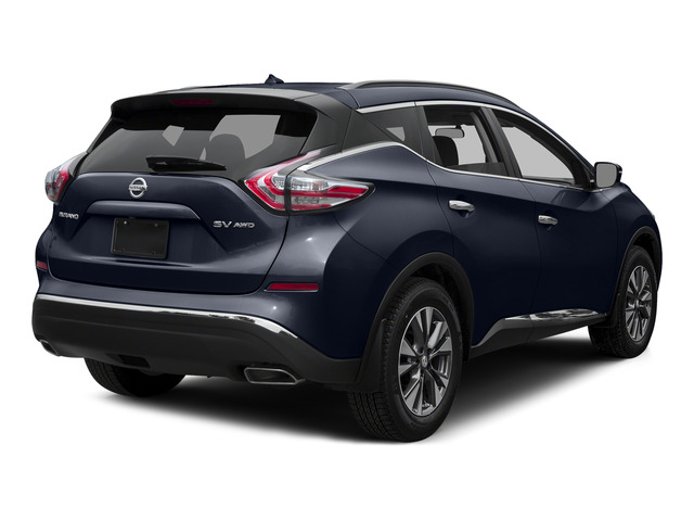 Arctic Blue Metallic 2015 Nissan Murano Pictures Murano Utility 4D S 2WD V6 photos rear view