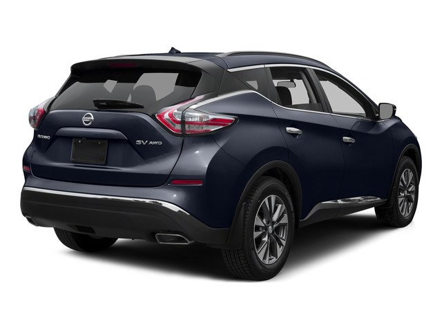 Arctic Blue Metallic 2015 Nissan Murano Pictures Murano Utility 4D SV 4WD V6 photos rear view