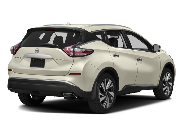 Pearl White 2015 Nissan Murano Pictures Murano Utility 4D Platinum 2WD V6 photos rear view