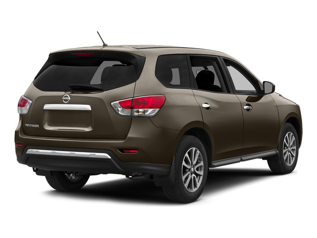 Java Metallic 2015 Nissan Pathfinder Pictures Pathfinder Utility 4D S 4WD V6 photos rear view