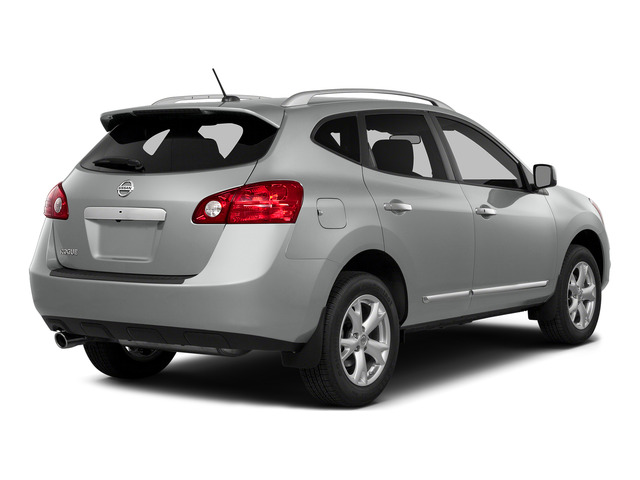 Frosted Steel 2015 Nissan Rogue Select Pictures Rogue Select Utility 4D S 2WD I4 photos rear view
