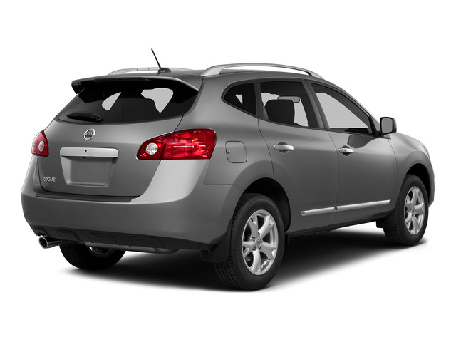 Platinum Graphite 2015 Nissan Rogue Select Pictures Rogue Select Utility 4D S 2WD I4 photos rear view