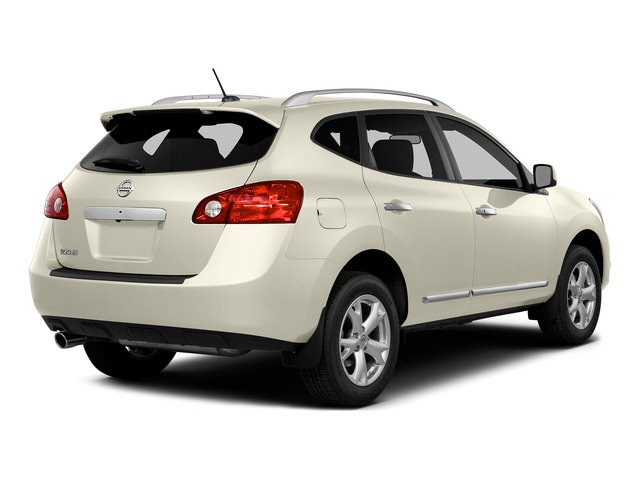 Pearl White 2015 Nissan Rogue Select Pictures Rogue Select Utility 4D S 2WD I4 photos rear view