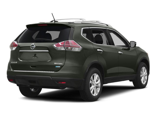 Midnight Jade 2015 Nissan Rogue Pictures Rogue Utility 4D SV AWD I4 photos rear view