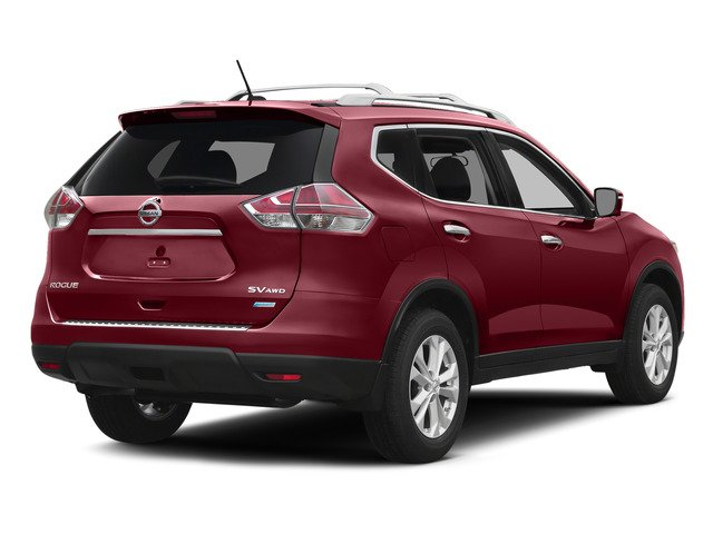 Cayenne Red 2015 Nissan Rogue Pictures Rogue Utility 4D SV AWD I4 photos rear view