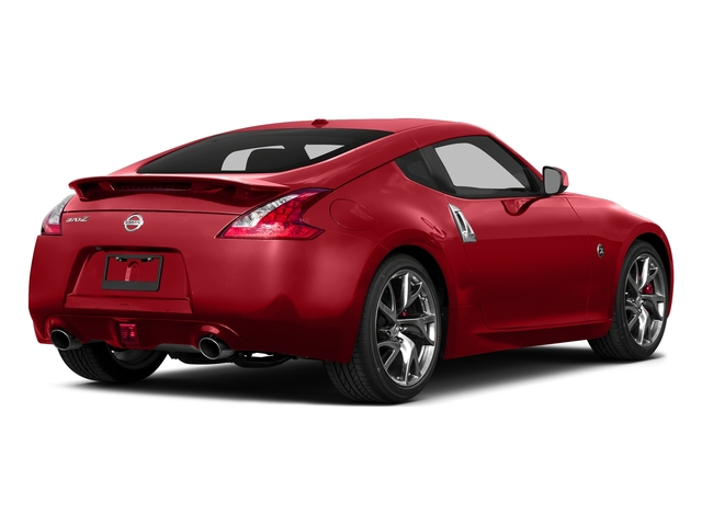 Magma Red Metallic 2015 Nissan 370Z Pictures 370Z Coupe 2D V6 photos rear view