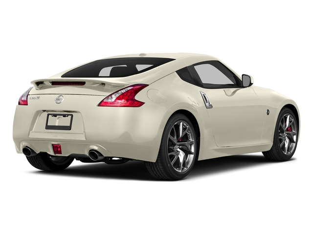 Pearl White 2015 Nissan 370Z Pictures 370Z Coupe 2D V6 photos rear view