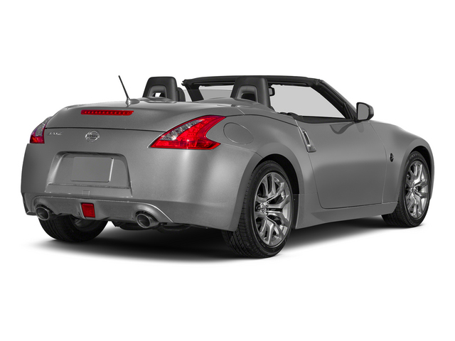 Brilliant Silver Metallic 2015 Nissan 370Z Pictures 370Z Roadster 2D Touring Sport V6 photos rear view