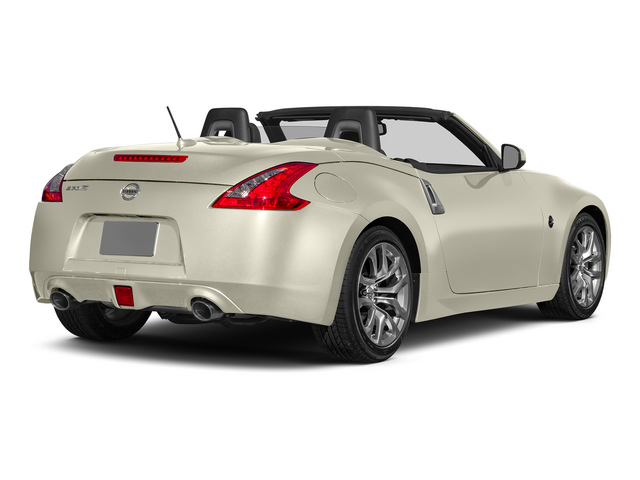 Pearl White 2015 Nissan 370Z Pictures 370Z Roadster 2D Touring Sport V6 photos rear view