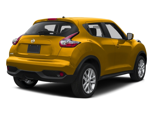Solar Yellow 2015 Nissan JUKE Pictures JUKE Utlity 4D SV 2WD I4 Turbo photos rear view
