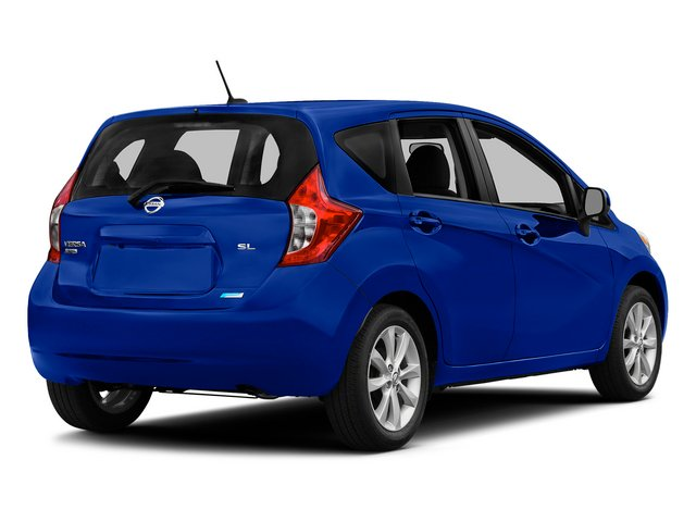 Metallic Blue 2015 Nissan Versa Note Pictures Versa Note Hatchback 5D Note S Plus I4 photos rear view