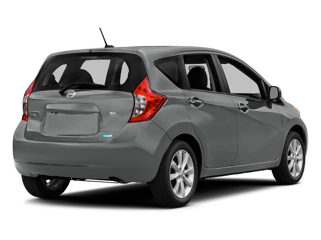 Magnetic Gray Metallic 2015 Nissan Versa Note Pictures Versa Note Hatchback 5D Note S Plus I4 photos rear view