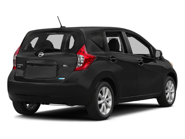 Super Black 2015 Nissan Versa Note Pictures Versa Note Hatchback 5D Note S Plus I4 photos rear view