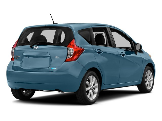 Morningsky Blue Metallic 2015 Nissan Versa Note Pictures Versa Note Hatchback 5D Note S Plus I4 photos rear view