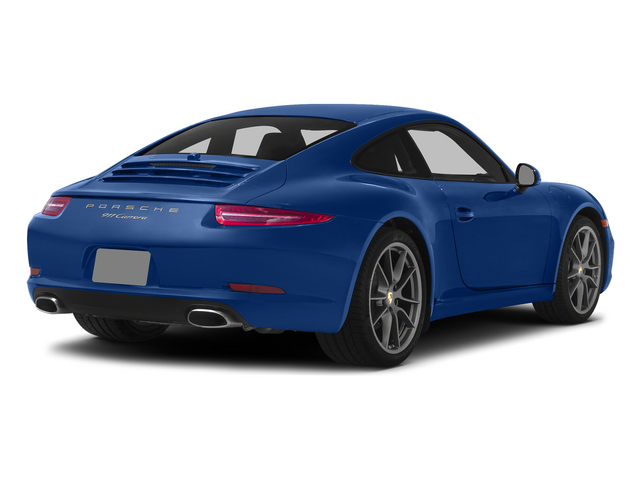 Sapphire Blue Metallic 2015 Porsche 911 Pictures 911 Coupe 2D 4 AWD H6 photos rear view