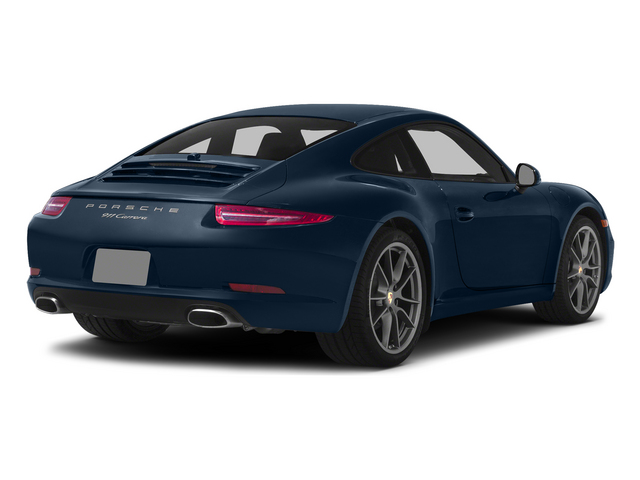 Dark Blue Metallic 2015 Porsche 911 Pictures 911 Coupe 2D 4 AWD H6 photos rear view