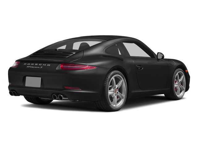 Black 2015 Porsche 911 Pictures 911 Coupe 2D S H6 photos rear view