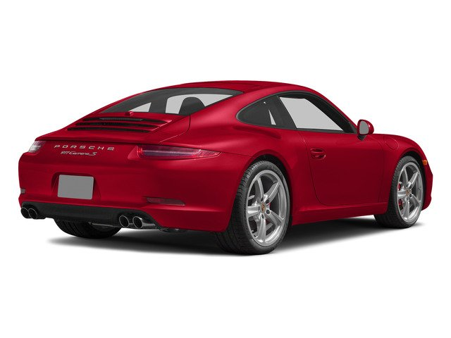 Guards Red 2015 Porsche 911 Pictures 911 2 Door Coupe photos rear view