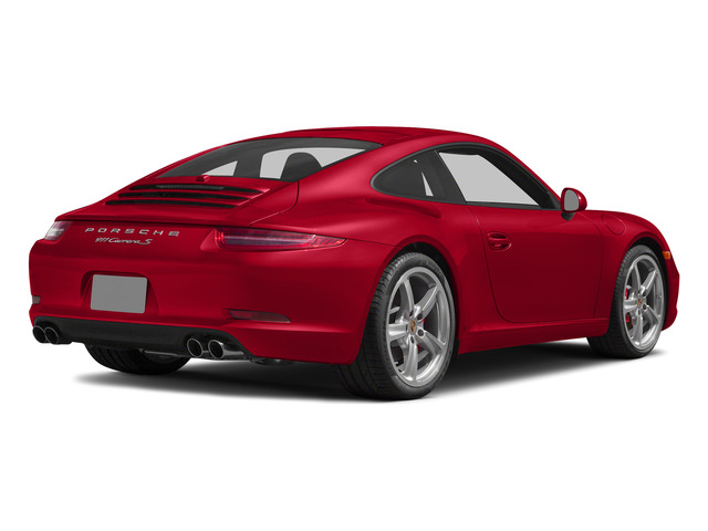 Guards Red 2015 Porsche 911 Pictures 911 Coupe 2D S H6 photos rear view