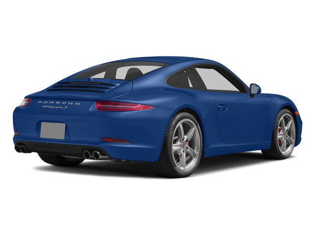 Sapphire Blue Metallic 2015 Porsche 911 Pictures 911 Coupe 2D S H6 photos rear view