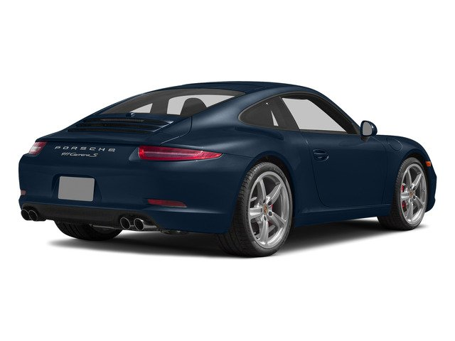 Dark Blue Metallic 2015 Porsche 911 Pictures 911 Coupe 2D S H6 photos rear view