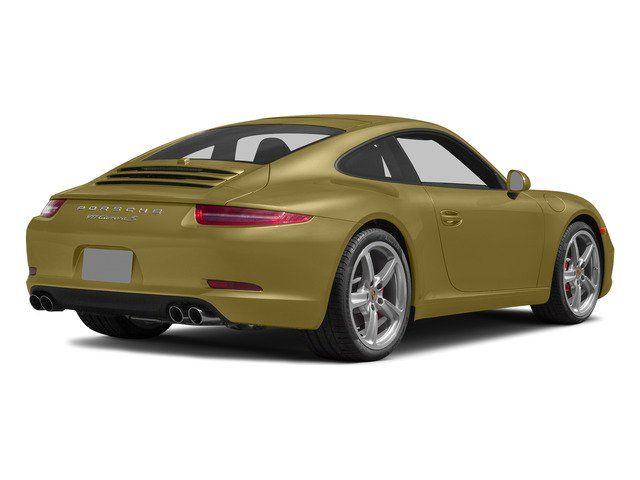 Lime Gold Metallic 2015 Porsche 911 Pictures 911 Coupe 2D S H6 photos rear view