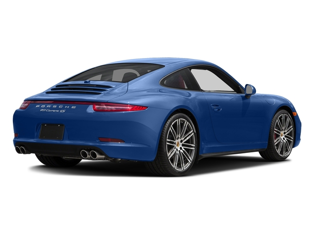 Sapphire Blue Metallic 2015 Porsche 911 Pictures 911 Coupe 2D 4 Targa AWD photos rear view
