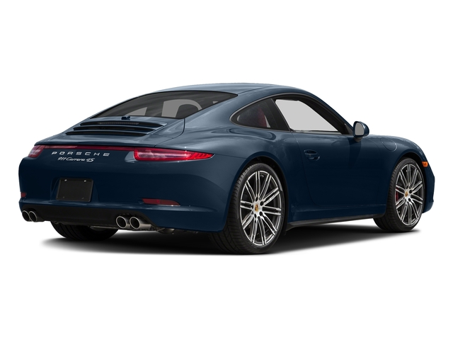 Dark Blue Metallic 2015 Porsche 911 Pictures 911 Coupe 2D 4 Targa AWD photos rear view