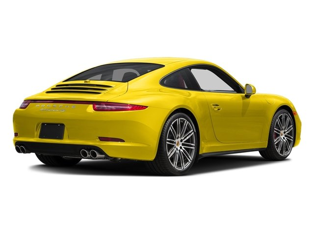 Racing Yellow 2015 Porsche 911 Pictures 911 Coupe 2D 4 Targa AWD photos rear view