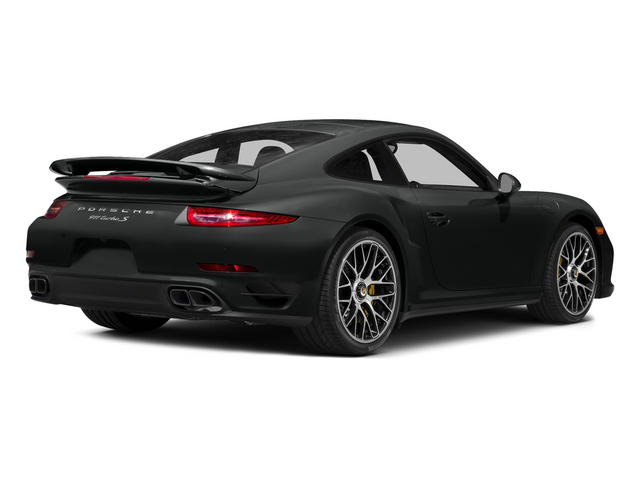 Jet Black Metallic 2015 Porsche 911 Pictures 911 Coupe 2D Turbo S AWD H6 photos rear view