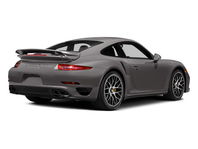 Agate Gray Metallic 2015 Porsche 911 Pictures 911 Coupe 2D Turbo S AWD H6 photos rear view
