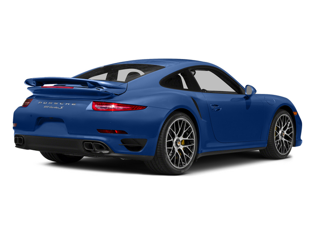 Sapphire Blue Metallic 2015 Porsche 911 Pictures 911 Coupe 2D Turbo S AWD H6 photos rear view