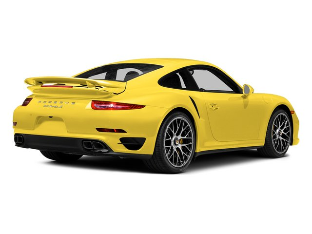 Racing Yellow 2015 Porsche 911 Pictures 911 Coupe 2D Turbo S AWD H6 photos rear view