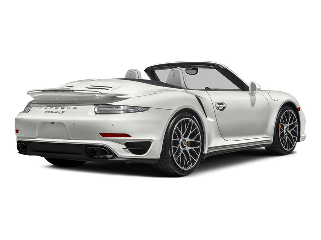 White 2015 Porsche 911 Pictures 911 Cabriolet 2D S AWD H6 Turbo photos rear view
