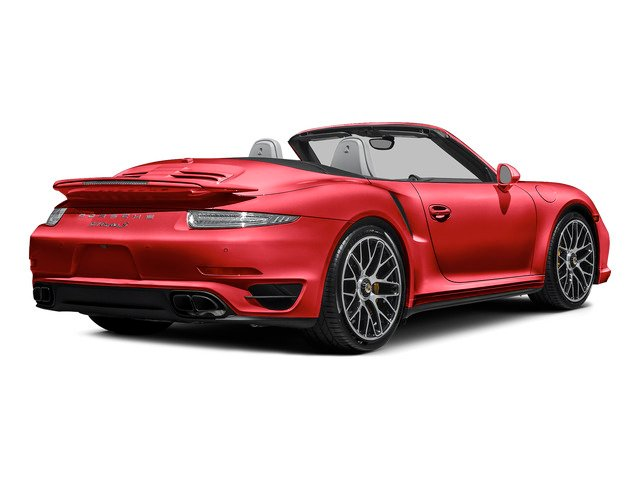 Guards Red 2015 Porsche 911 Pictures 911 Cabriolet 2D S AWD H6 Turbo photos rear view