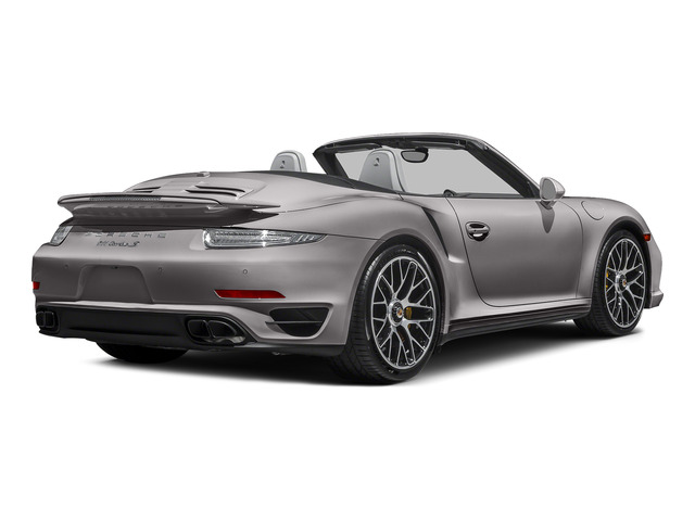 Agate Gray Metallic 2015 Porsche 911 Pictures 911 Cabriolet 2D S AWD H6 Turbo photos rear view