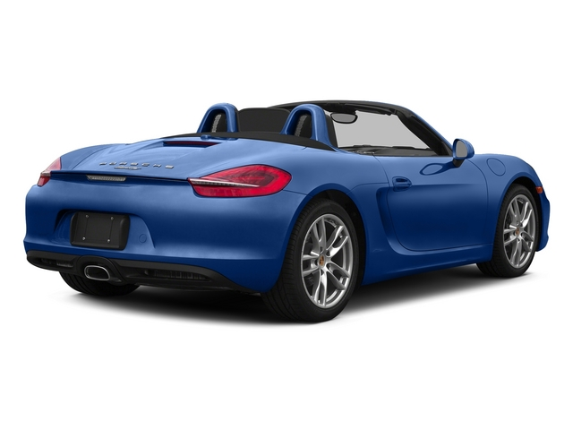 Sapphire Blue Metallic 2015 Porsche Boxster Pictures Boxster Roadster 2D H6 photos rear view