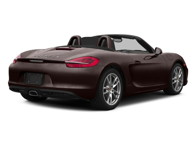 Mahogany Metallic 2015 Porsche Boxster Pictures Boxster Roadster 2D H6 photos rear view